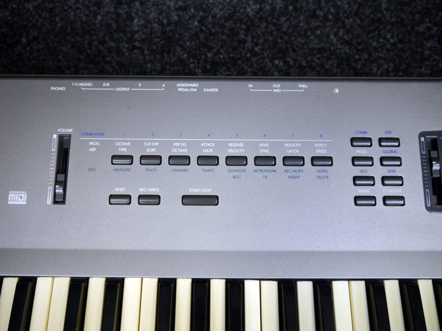 korg n264 music synthesizer 2nd hand rich tone music. Black Bedroom Furniture Sets. Home Design Ideas