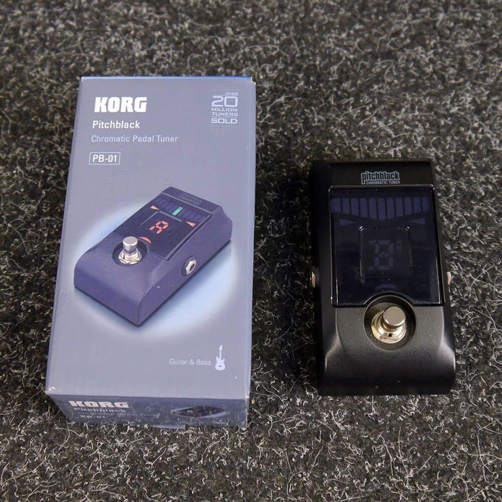 korg pitchblack pedal tuner w box 2nd hand rich tone music. Black Bedroom Furniture Sets. Home Design Ideas