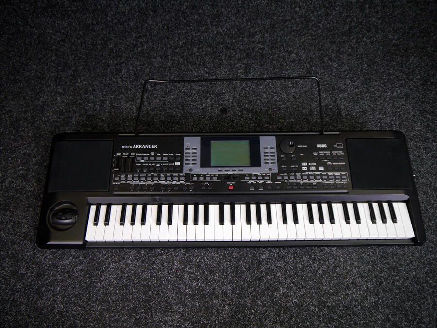 korg microarranger keyboard 2nd hand rich tone music. Black Bedroom Furniture Sets. Home Design Ideas
