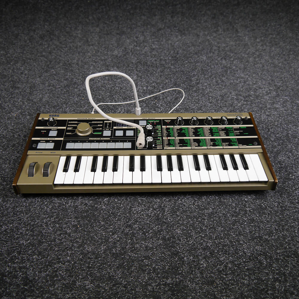 korg microkorg synth 2nd hand rich tone music. Black Bedroom Furniture Sets. Home Design Ideas