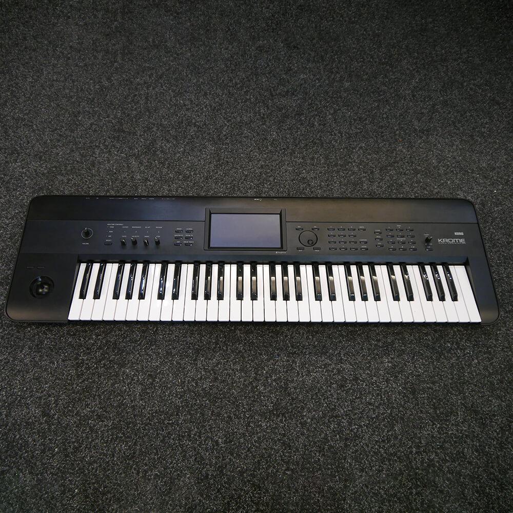 korg krome 61 key synthesizer workstation 2nd hand rich tone music. Black Bedroom Furniture Sets. Home Design Ideas