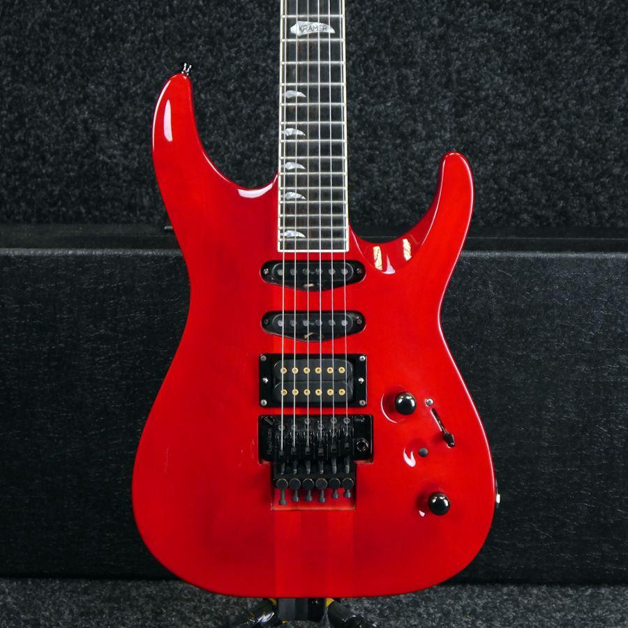 Kramer 1987 SMD1 USA - Red w/ Hard Case - 2nd Hand