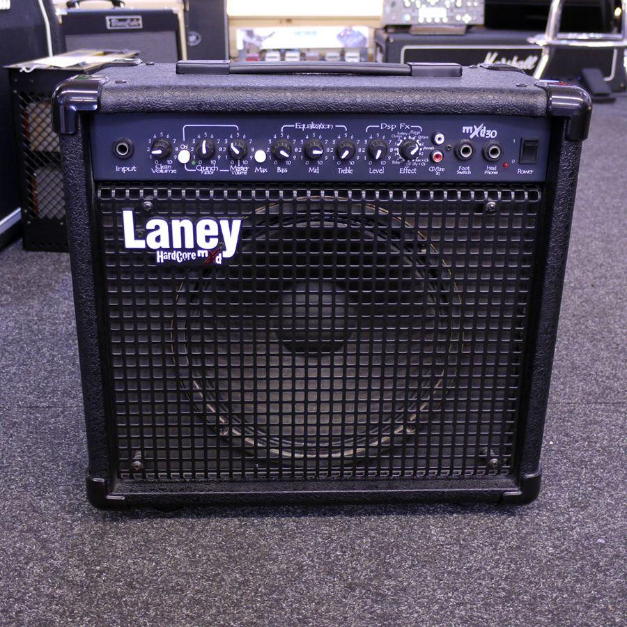 laney mxd30 guitar combo amplifier 2nd hand rich tone music. Black Bedroom Furniture Sets. Home Design Ideas