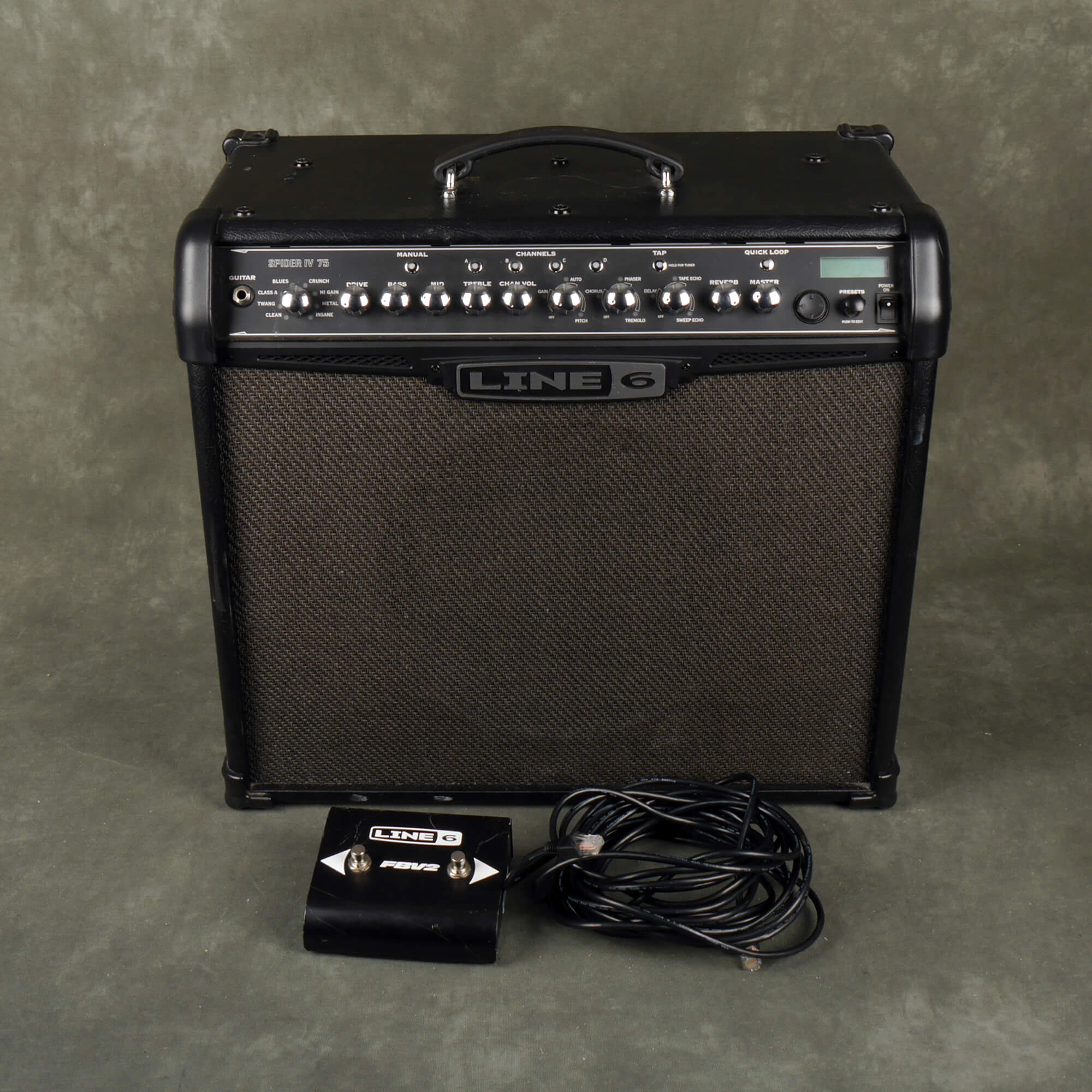 Line 6 Spider IV 75 Guitar Combo Amplifier - 2nd Hand **UK SHIPPING ONLY**