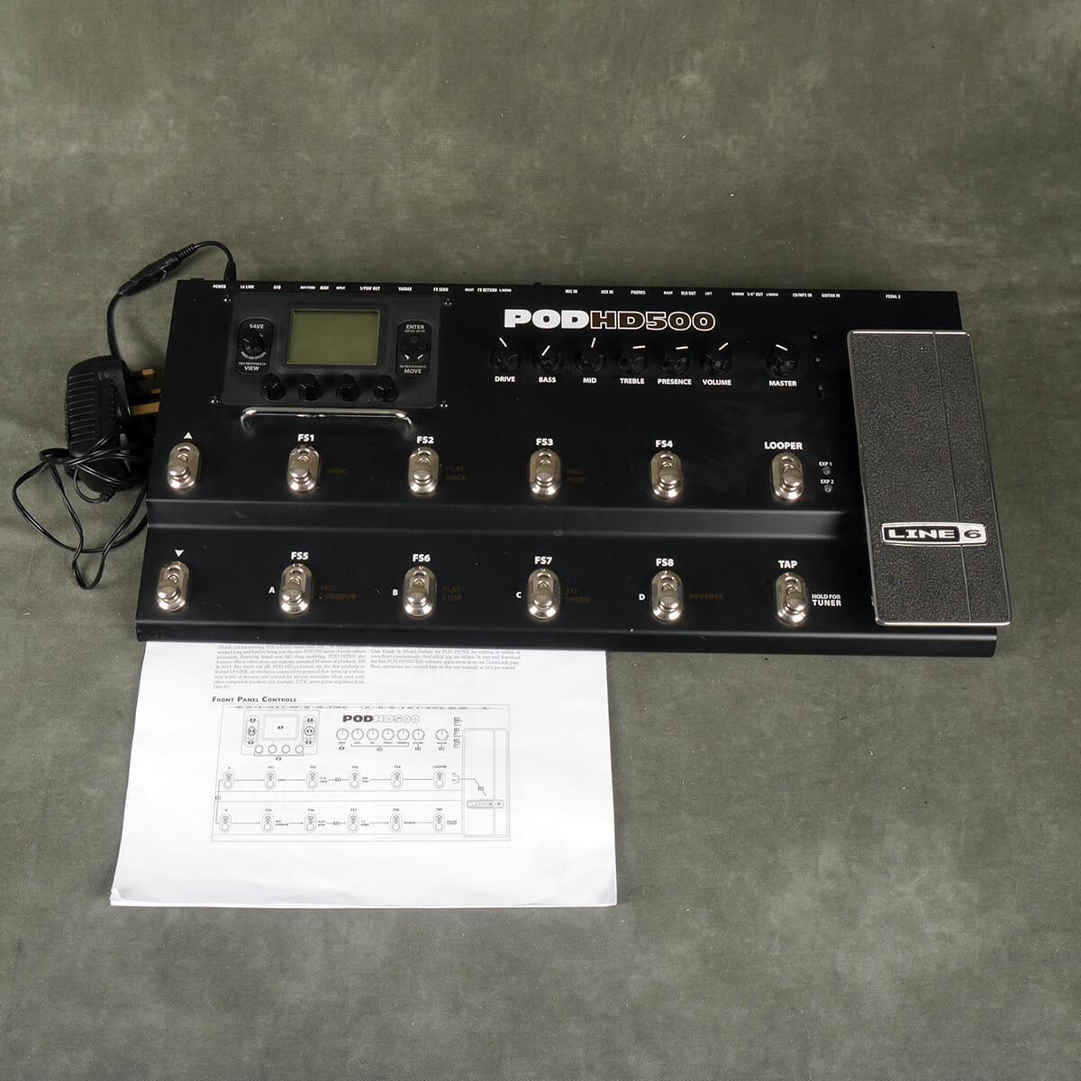 Line 6 Pod HD500 Multi FX Pedalboard - 2nd Hand