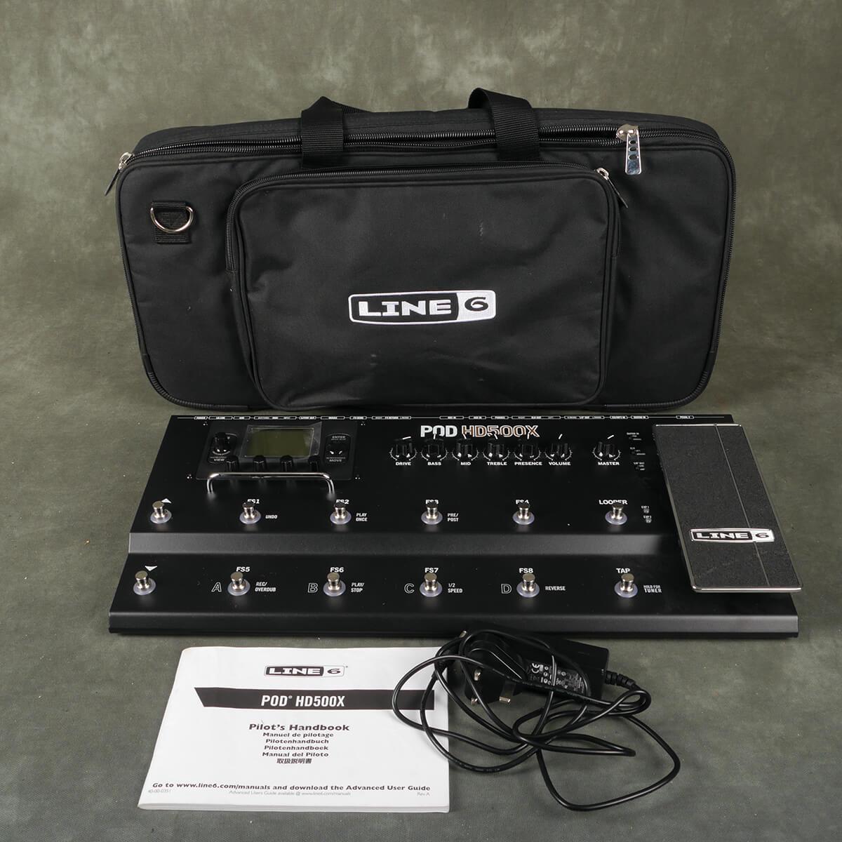 Line 6 Pod HD500X w/Gig Bag - 2nd Hand