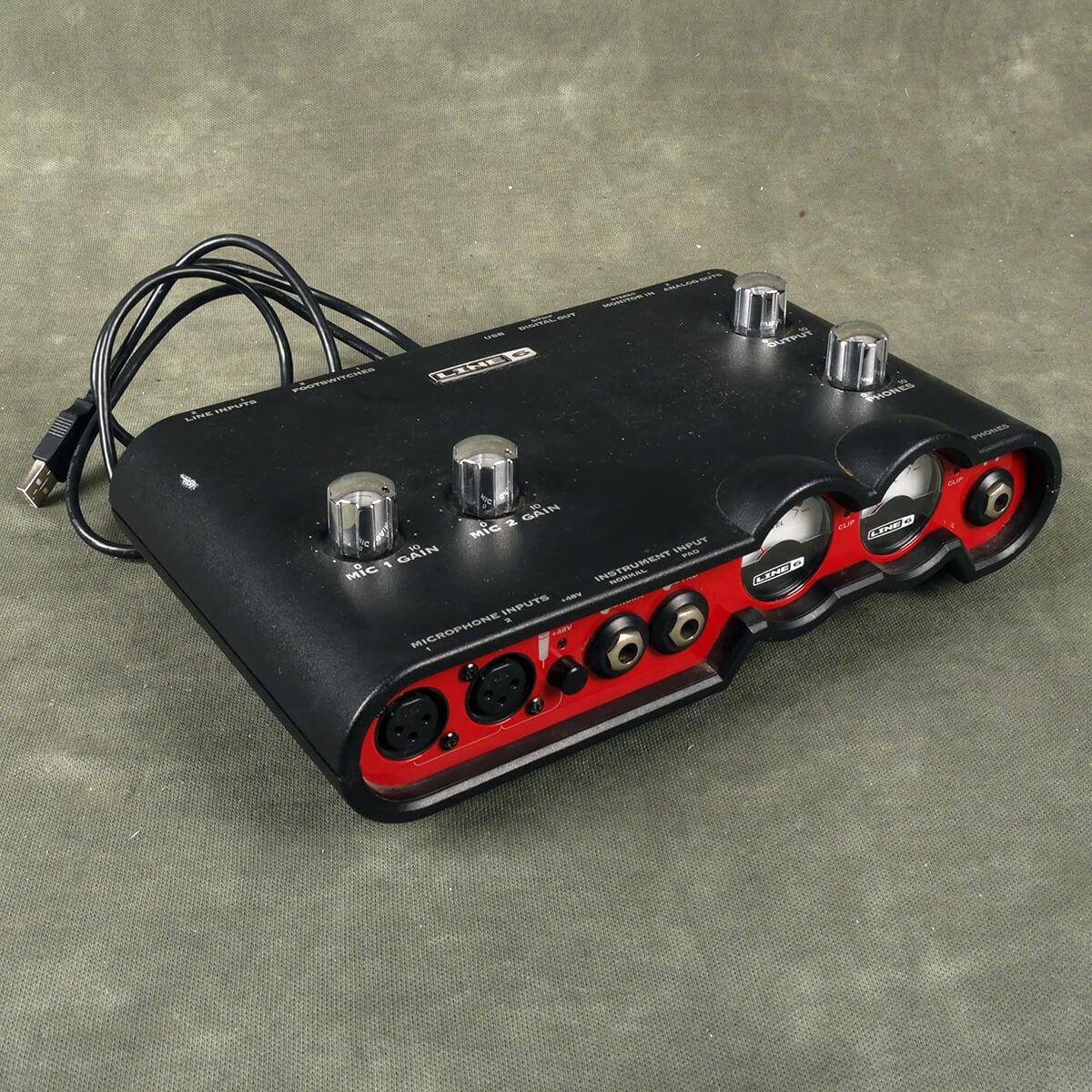 Line 6 Tone Port VX2 Audio Interface - 2nd Hand