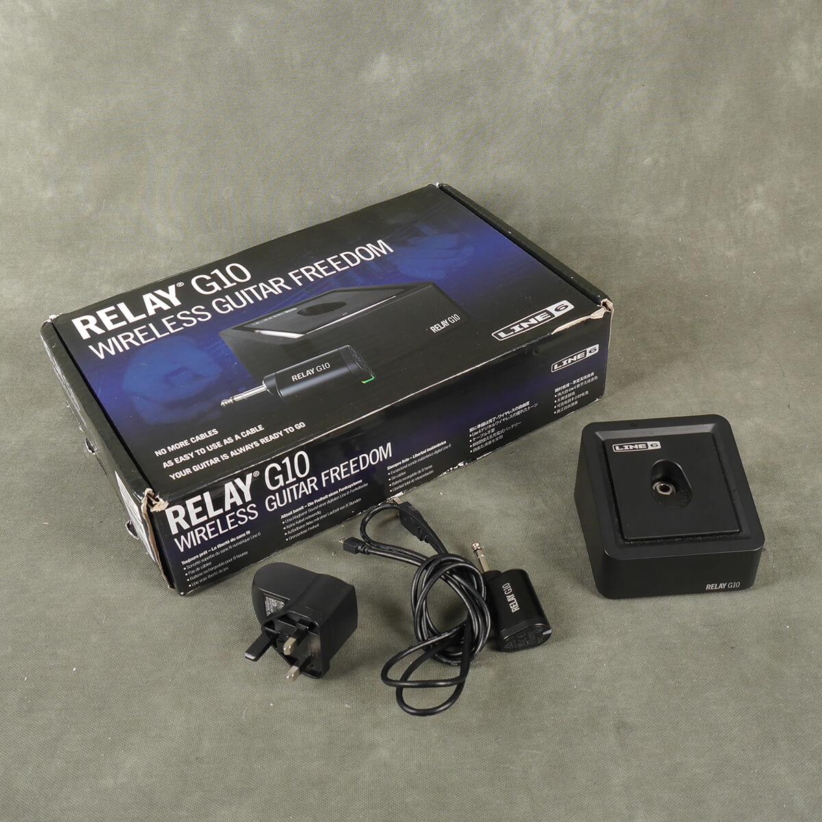 Line 6 Relay G10 Wireless System w/Box - 2nd Hand