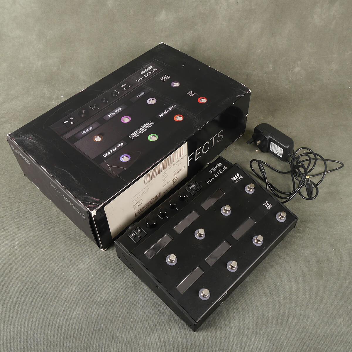 Line 6 HX Effects Processor w/Box & PSU - 2nd Hand