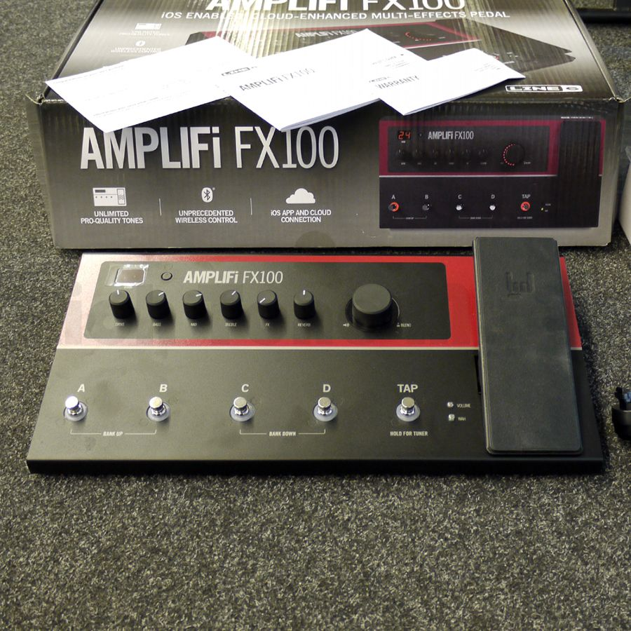line 6 amplifi fx100 fx pedal w box 2nd hand rich tone music. Black Bedroom Furniture Sets. Home Design Ideas