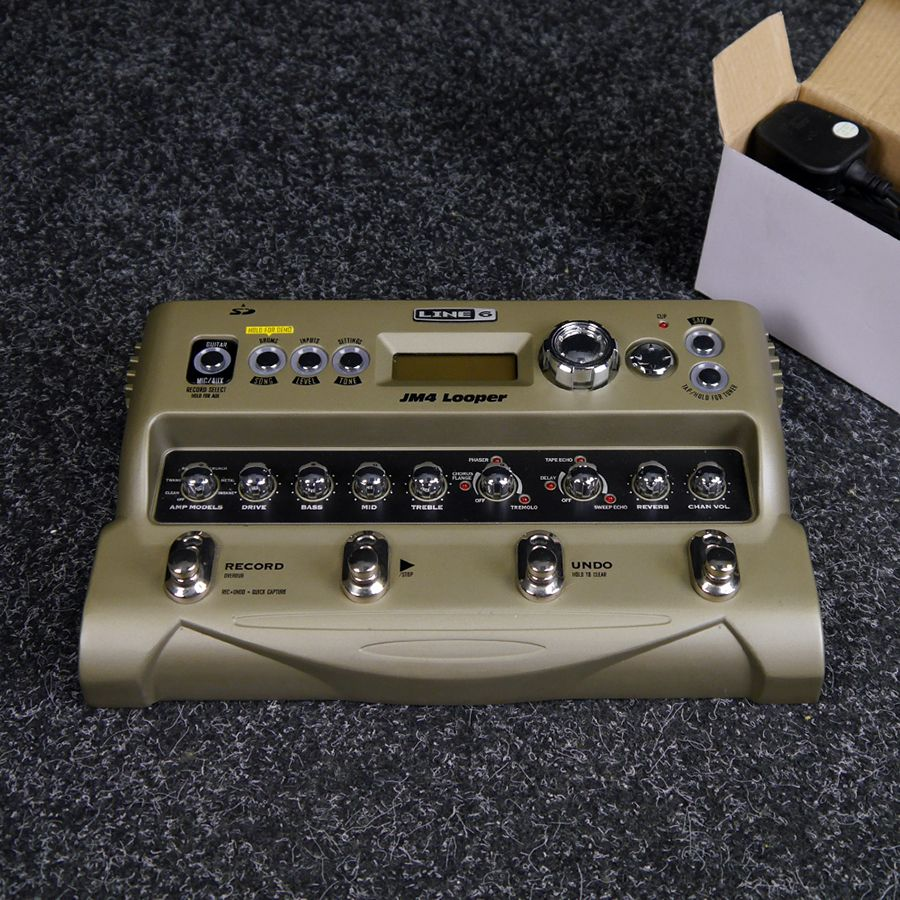 Line 6 JM4 Looper FX Pedal - 2nd Hand