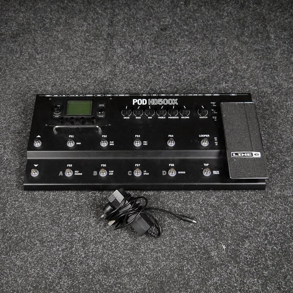 Line 6 POD HD500X Multi FX Pedal - 2nd Hand
