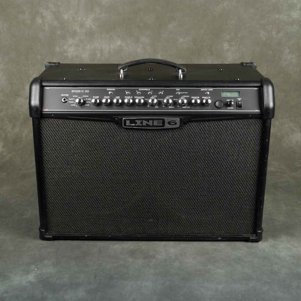 Line 6 Spider IV 120 Combo Amp - 2nd Hand