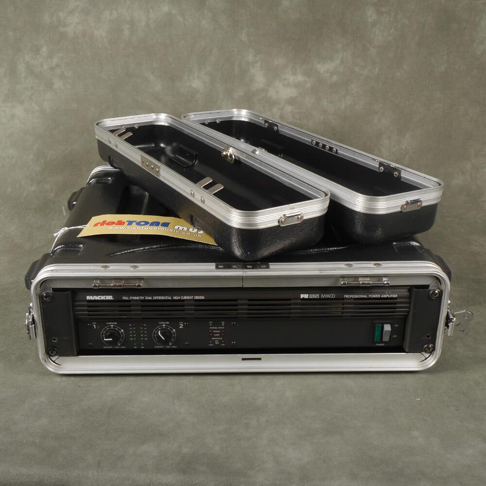 Mackie FR Series M1400 Professional Power Amp w/Flight Case - 2nd Hand