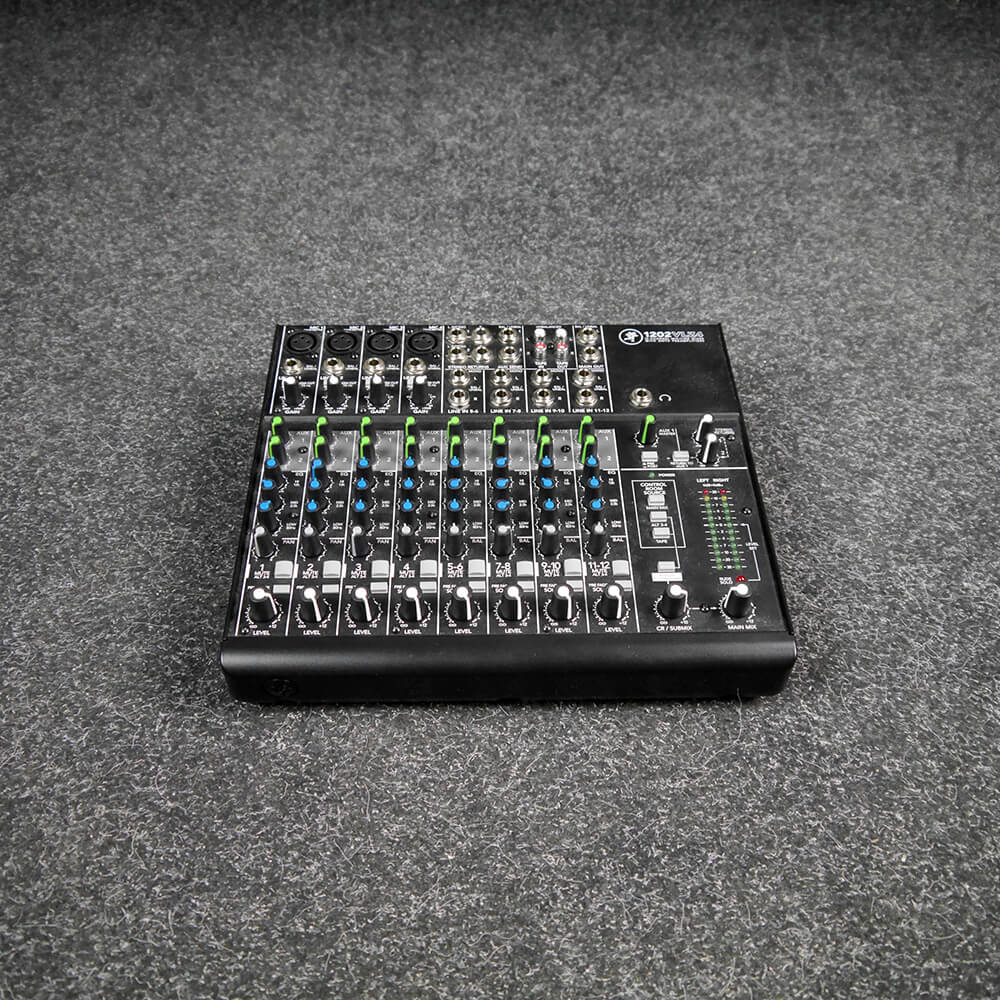 Mackie 1202VLZ4 12-Channel Mixing Desk - 2nd Hand