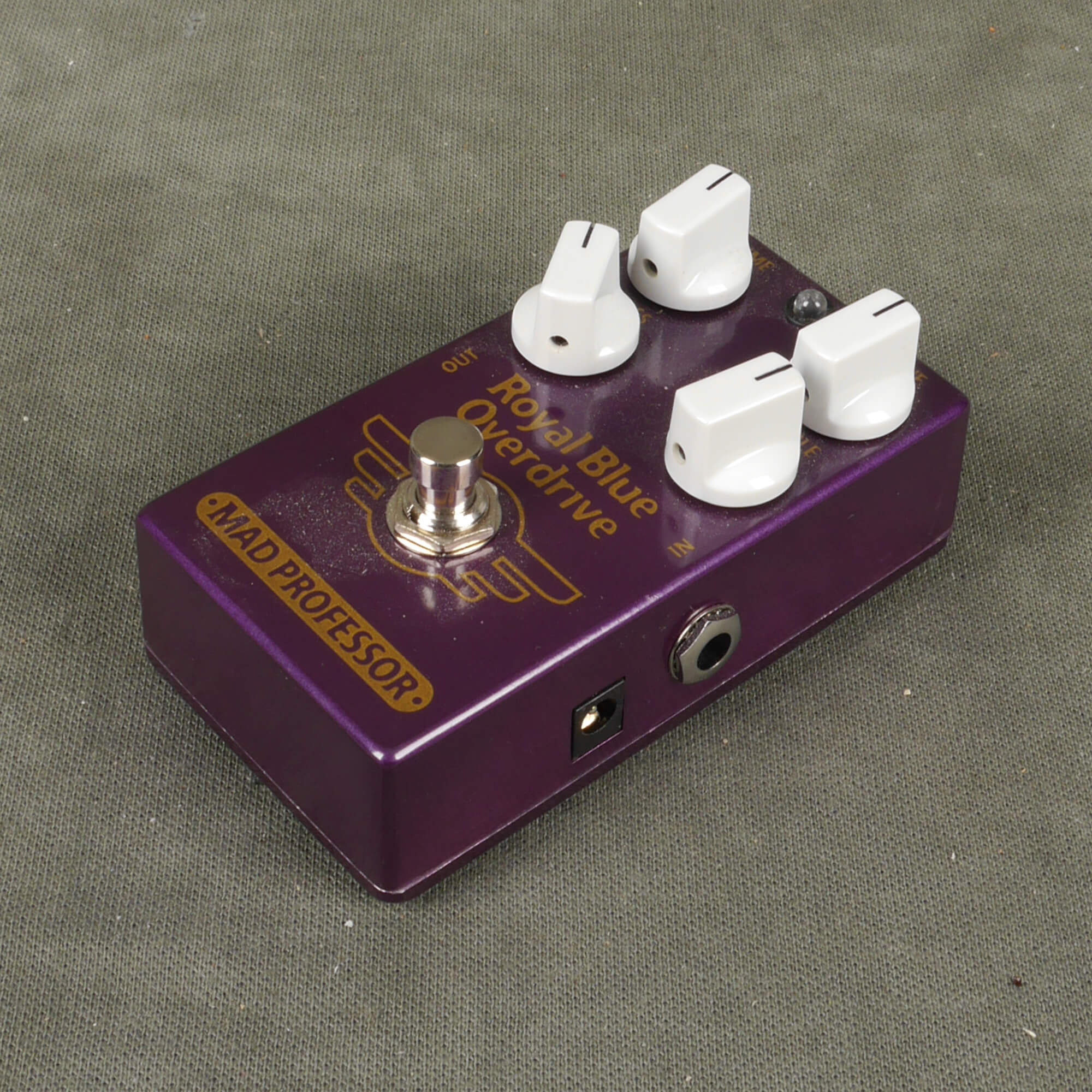 Mad Professor Royal Blue Overdrive FX Pedal - 2nd Hand