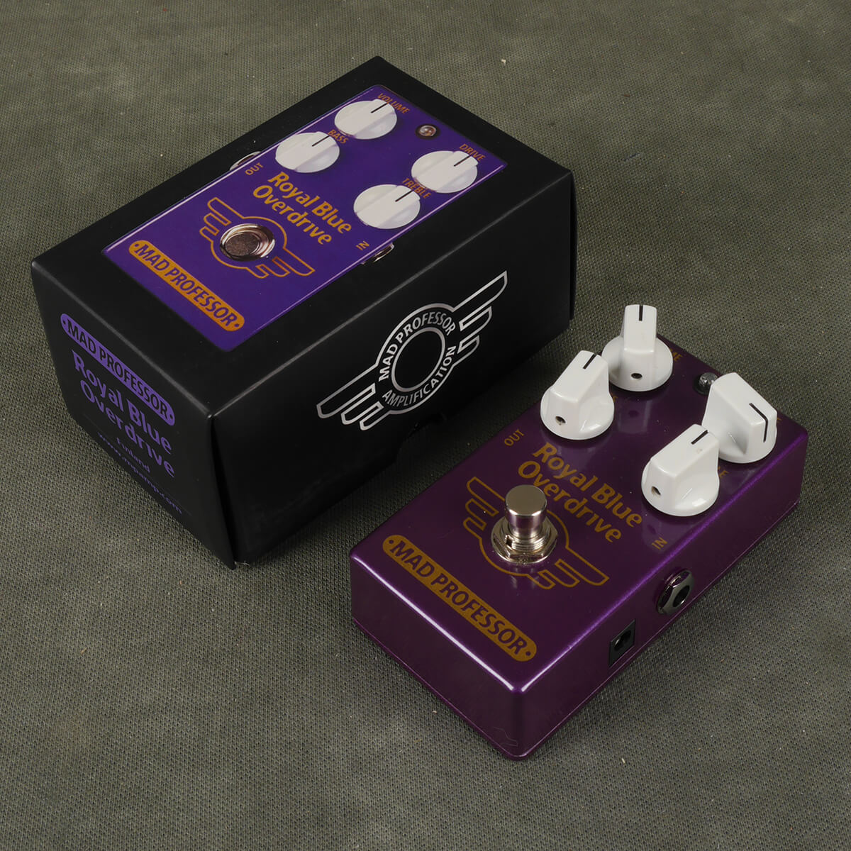 Mad Professor Royal Blue Overdrive FX Pedal w/Box - 2nd Hand