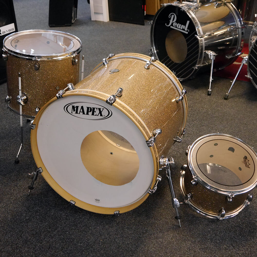 Mapex Meridian Birch Champ Gold Shell Pack 12-16-22 - 2nd Hand