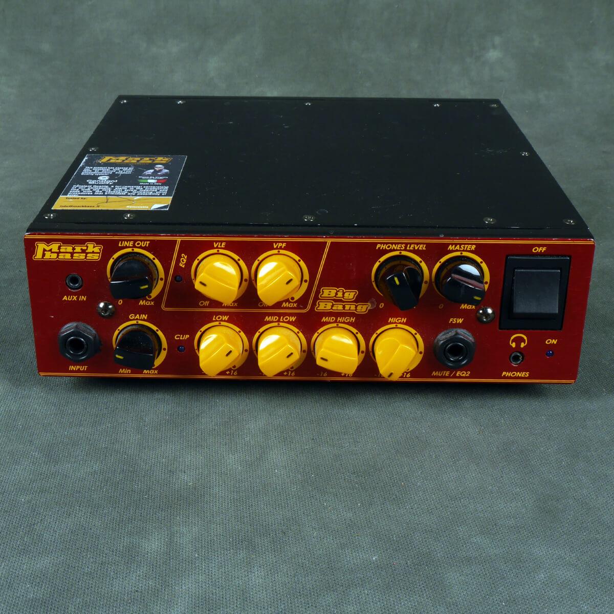 Markbass Big Bang Bass Amplifier Head - 2nd Hand