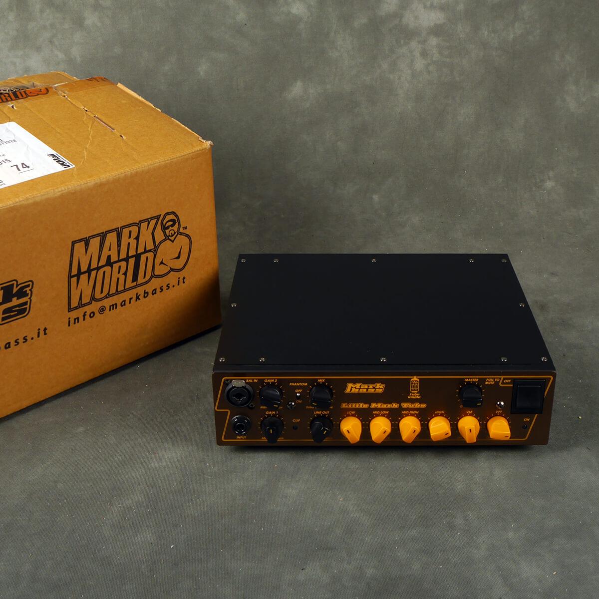 Markbass Little Mark Tube Bass Amplifier Head w/Box - 2nd Hand