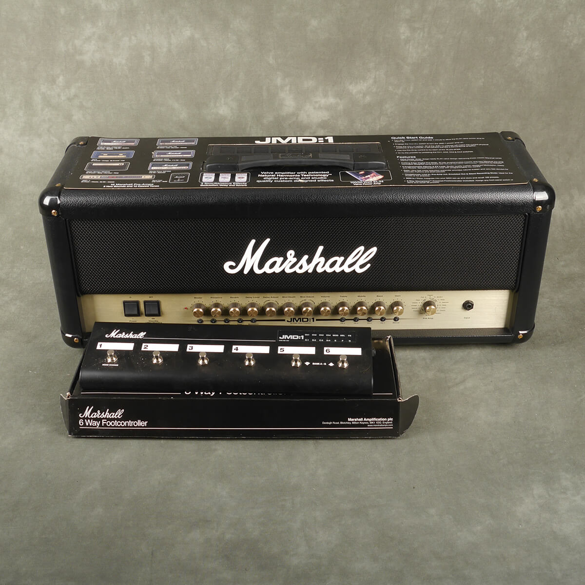 Marshall JMD 1 Amplifier Head & Footswitch - 2nd Hand