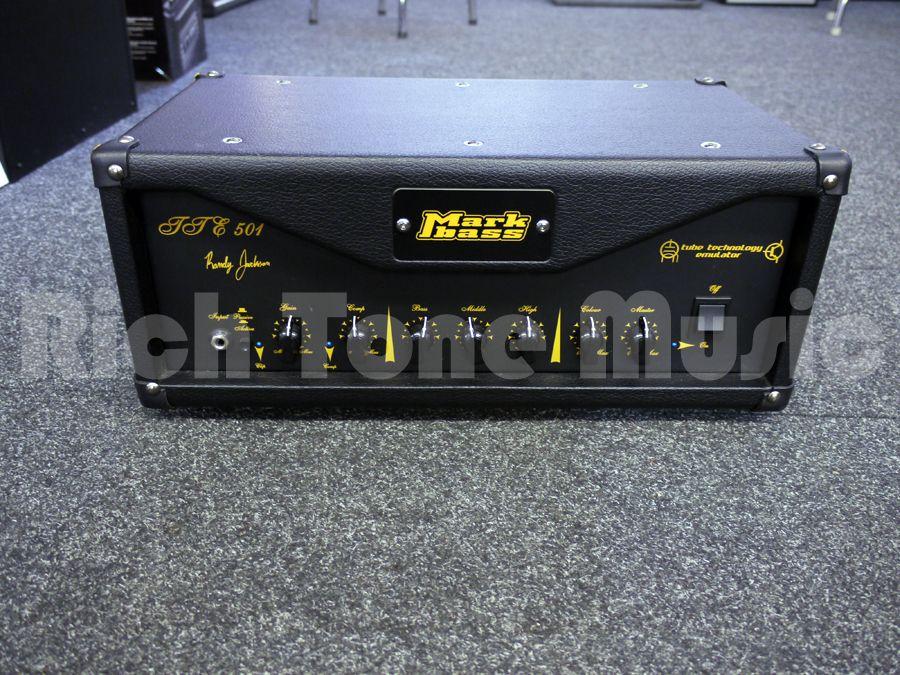 markbass tte501 randy jackson signature bass amp head 2nd hand rich tone music. Black Bedroom Furniture Sets. Home Design Ideas