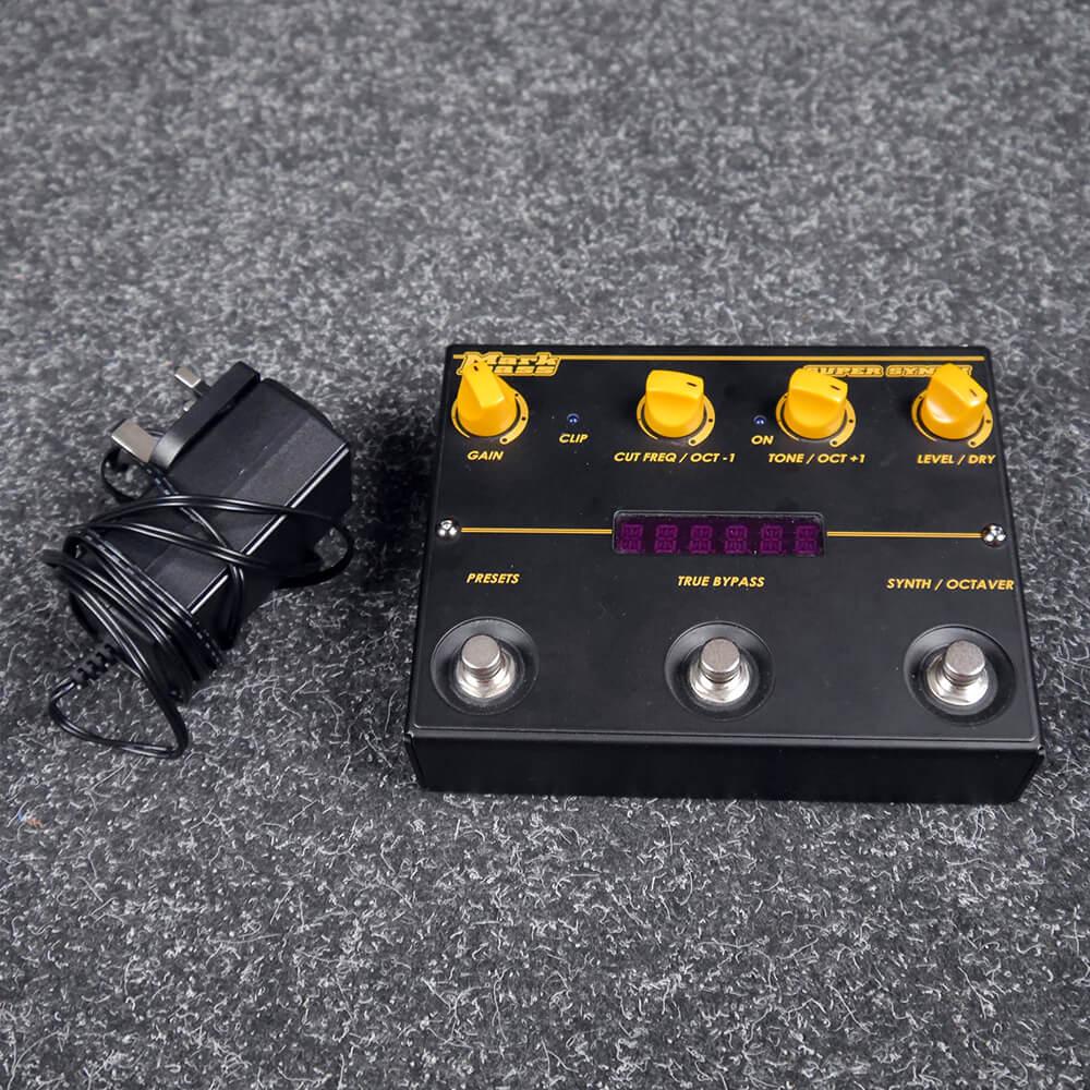 Mark Bass Super Synth V2 FX Pedal - 2nd Hand