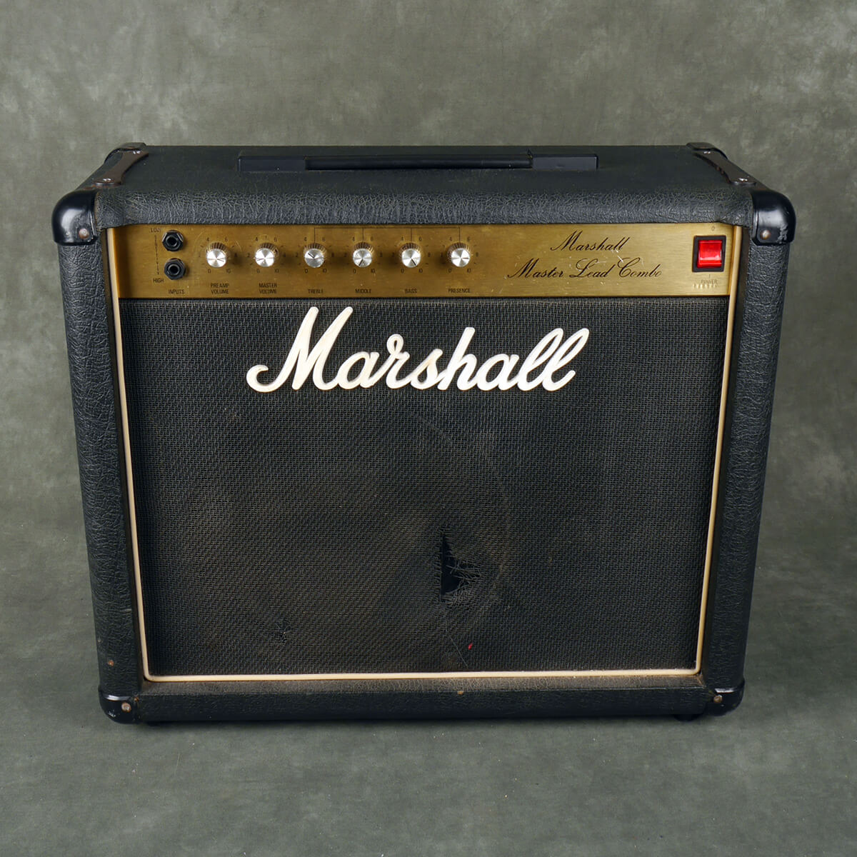 Marshall Master Lead Combo Amplifier - 2nd Hand