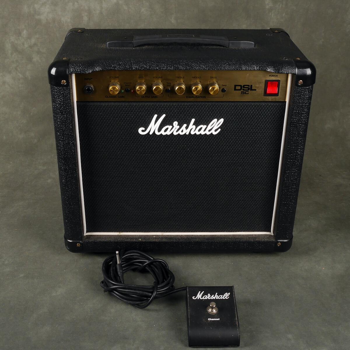 Marshall DSL5C Valve Combo Amplifier - 2nd Hand