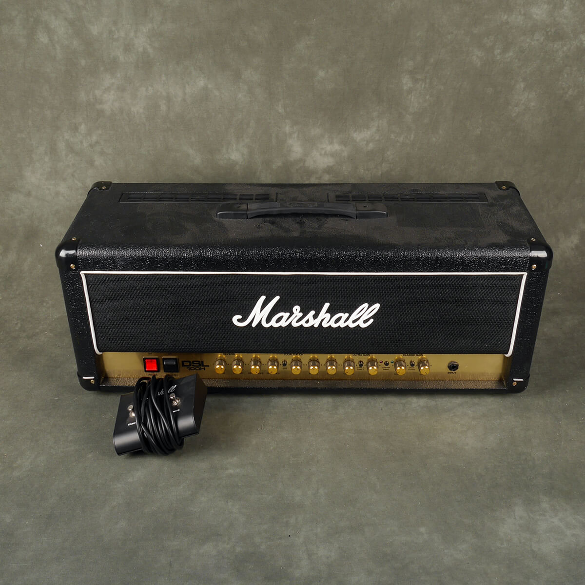 Marshall DSL100H Amplifier Head & Footswitch - 2nd Hand **COLLECTION ONLY**