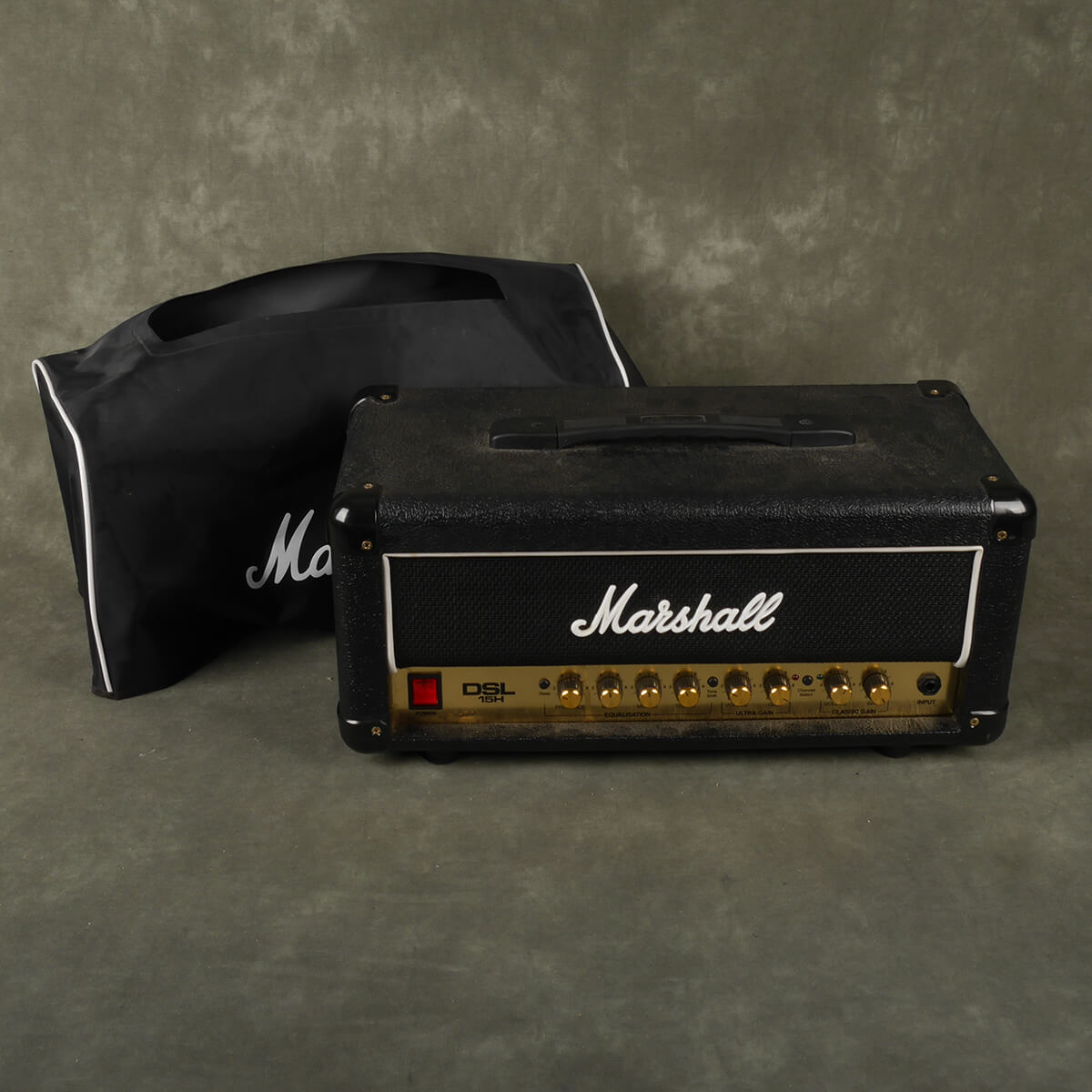 Marshall DSL 15H Valve Amplifier Head w/Cover - 2nd Hand