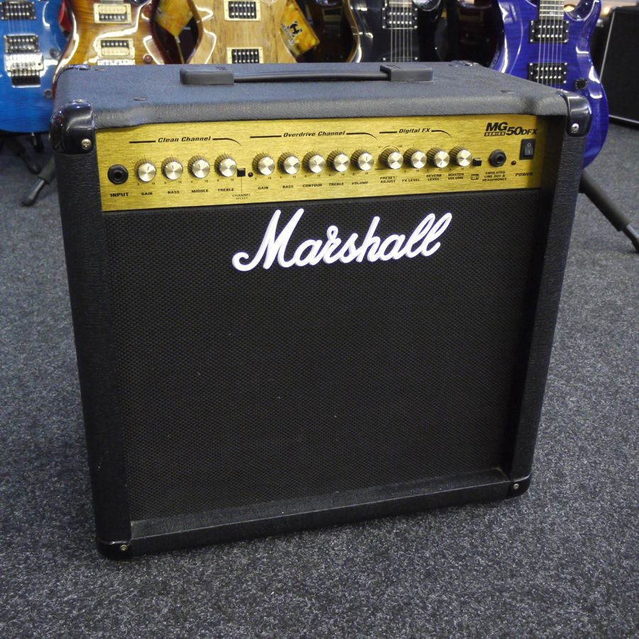 Fonkelnieuw Marshall MG50DFX Amp - 2nd Hand | Rich Tone Music MI-74