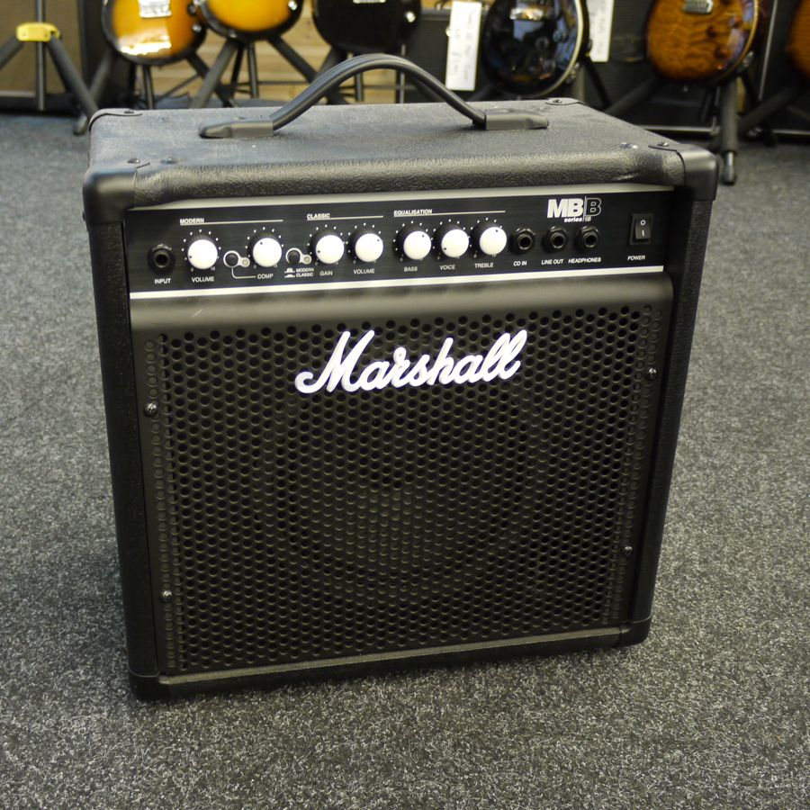 marshall mb15 bass combo amplifier 2nd hand rich tone music. Black Bedroom Furniture Sets. Home Design Ideas