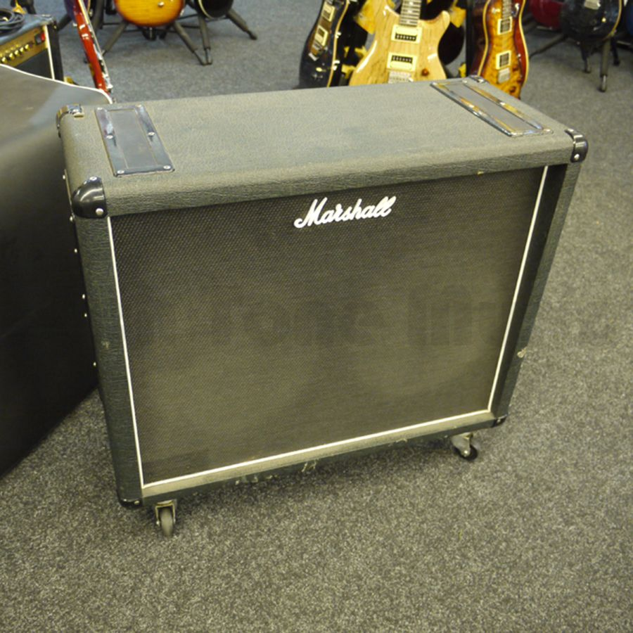marshall 1936 2x12 cab vintage 30s 16 ohm 2nd hand rich tone music. Black Bedroom Furniture Sets. Home Design Ideas