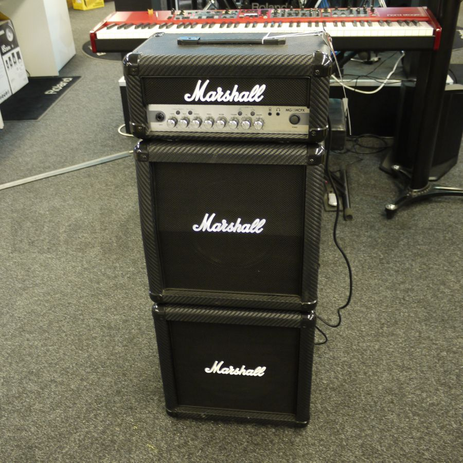 marshall mg15cfxms mini stack 2nd hand rich tone music. Black Bedroom Furniture Sets. Home Design Ideas