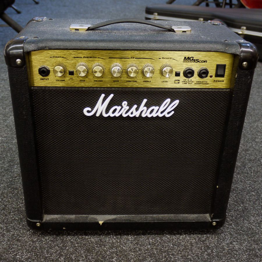 marshall mg15cdr practice amp 2nd hand rich tone music. Black Bedroom Furniture Sets. Home Design Ideas