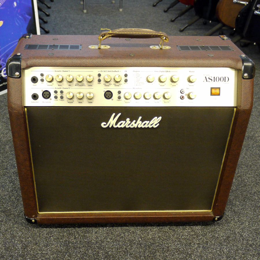 marshall as100d acoustic guitar amp 2nd hand rich tone music. Black Bedroom Furniture Sets. Home Design Ideas