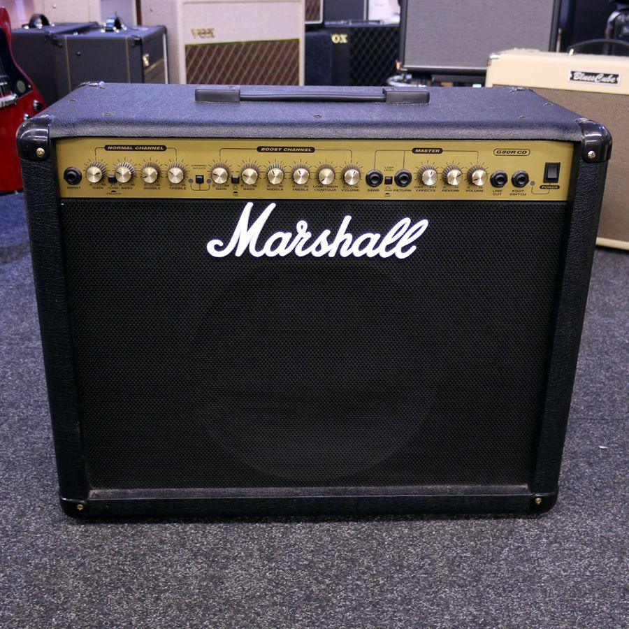 marshall g80r cd guitar amplifier 2nd hand rich tone music. Black Bedroom Furniture Sets. Home Design Ideas