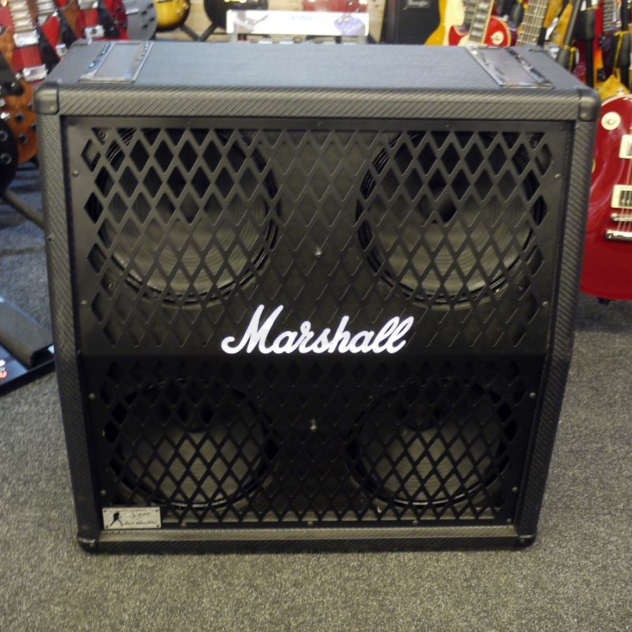 marshall 1960a dm dave mustaine signature slant cab 2nd hand rich tone music. Black Bedroom Furniture Sets. Home Design Ideas