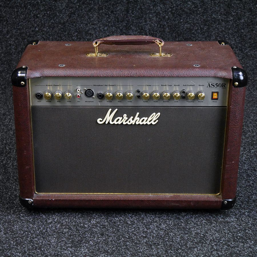 marshall as50r combo acoustic amp 2nd hand rich tone music. Black Bedroom Furniture Sets. Home Design Ideas