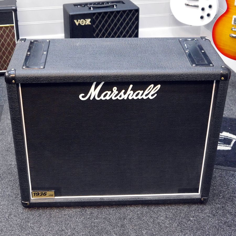 marshall 1936 lead 2x12 cabinet 2nd hand rich tone music. Black Bedroom Furniture Sets. Home Design Ideas