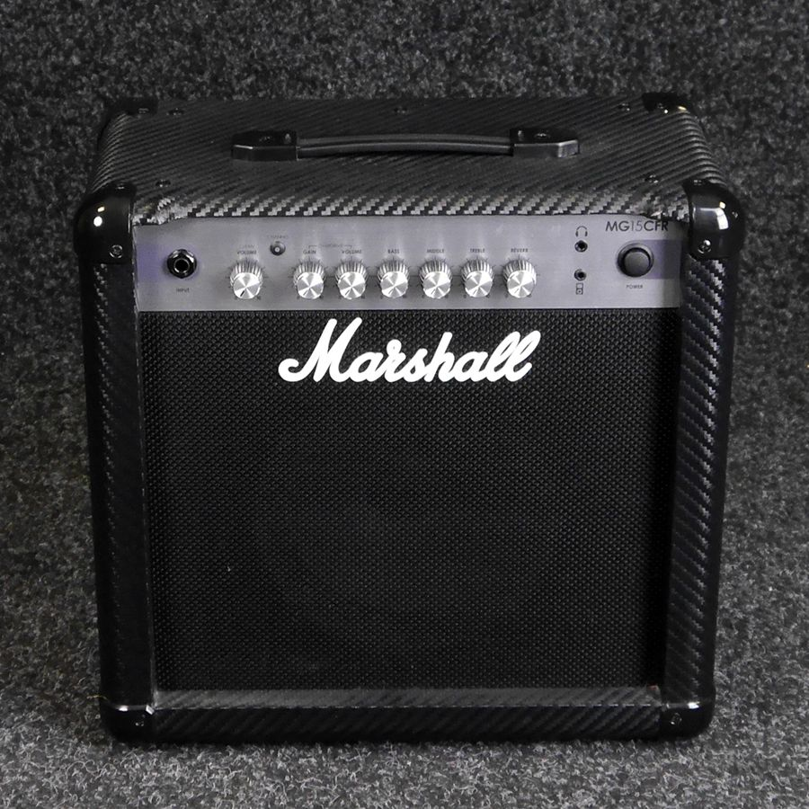 marshall mg15cfr guitar amplifier 2nd hand rich tone music. Black Bedroom Furniture Sets. Home Design Ideas