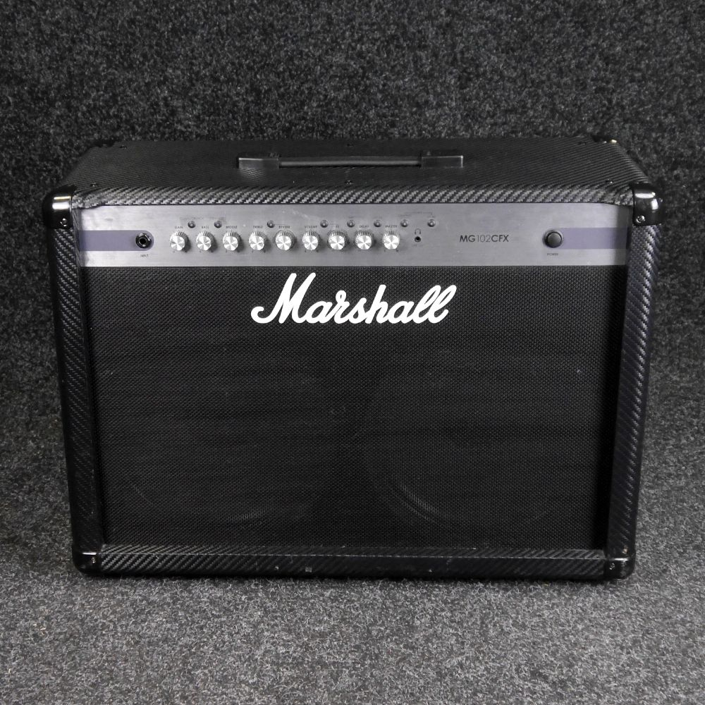 marshall mg102cfx 2x12 combo amp 2nd hand rich tone music. Black Bedroom Furniture Sets. Home Design Ideas