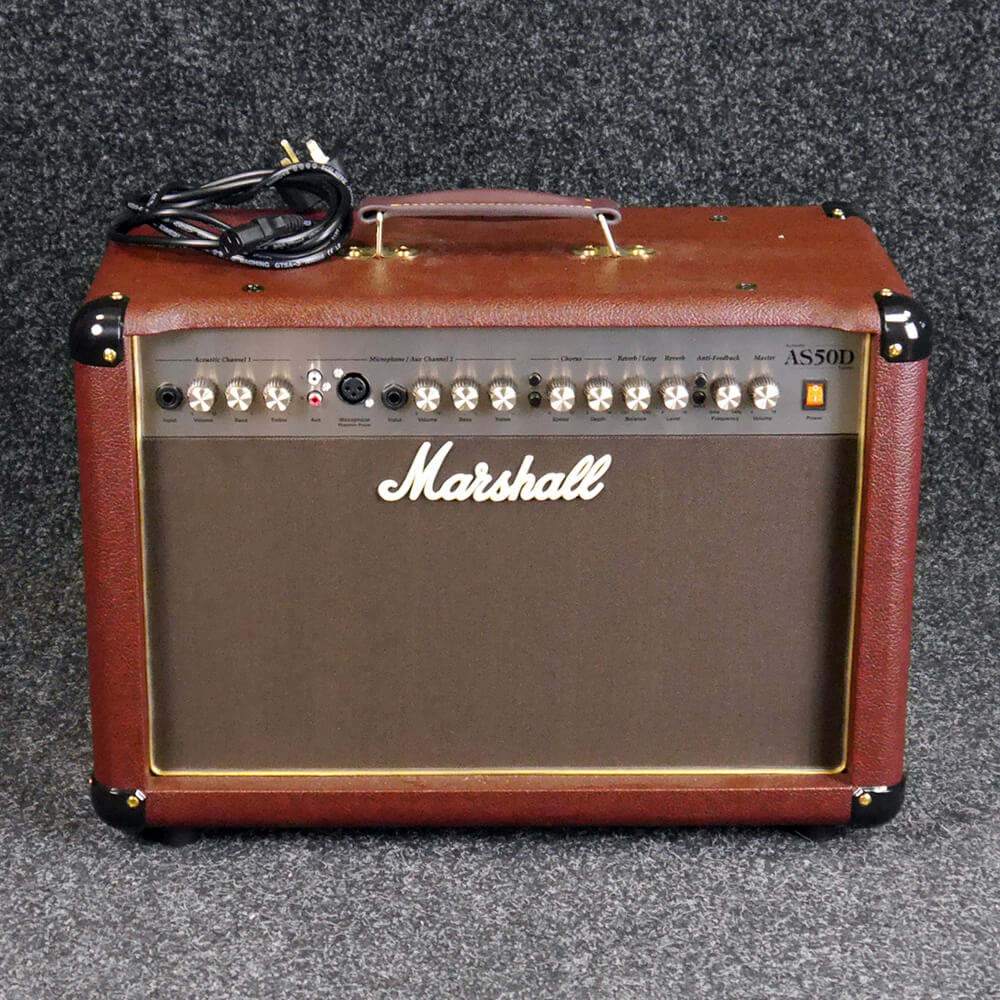 marshall as50d acoustic combo amp 2nd hand rich tone music. Black Bedroom Furniture Sets. Home Design Ideas