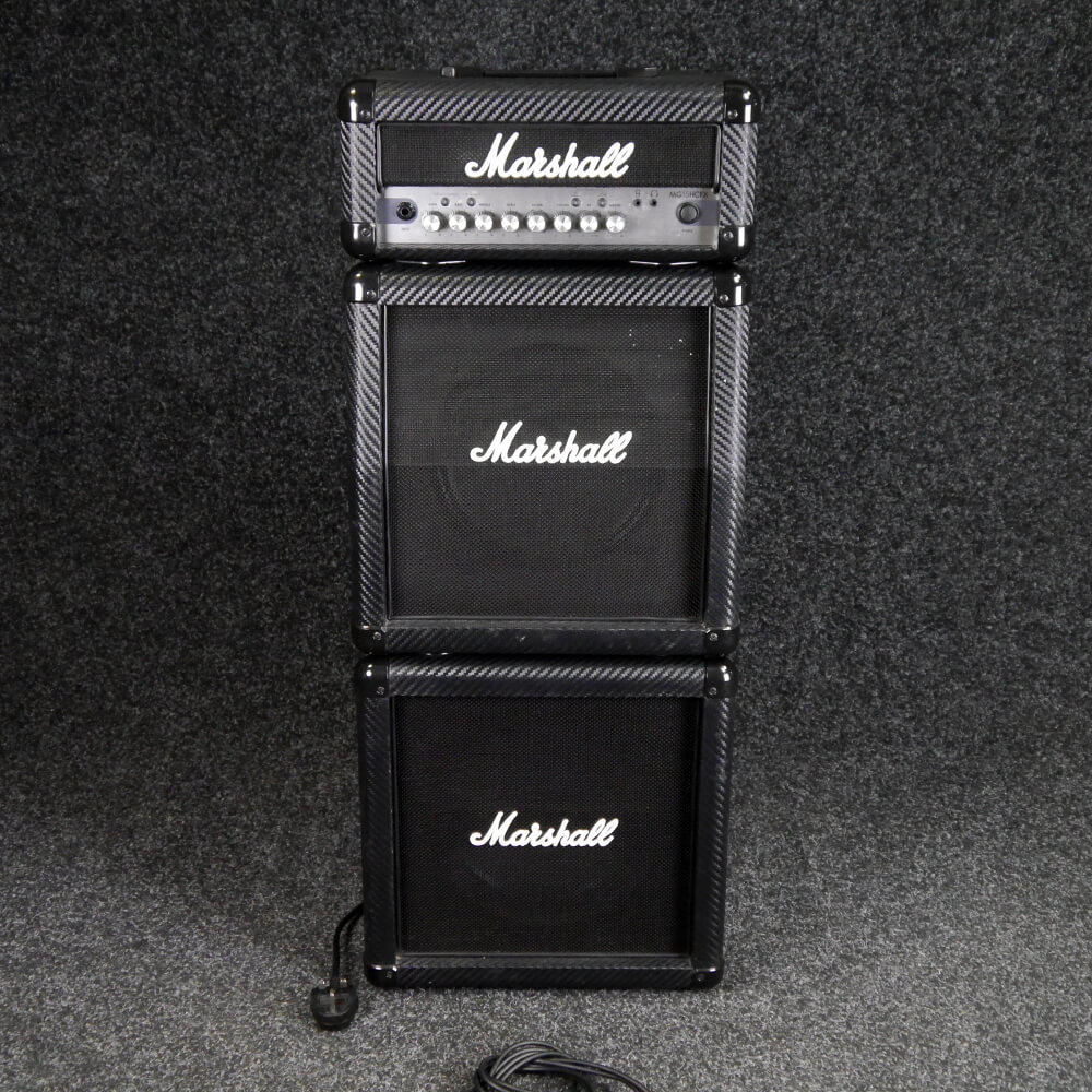marshall mg series mg15cfxms 15w mini stack 2nd hand rich tone music. Black Bedroom Furniture Sets. Home Design Ideas
