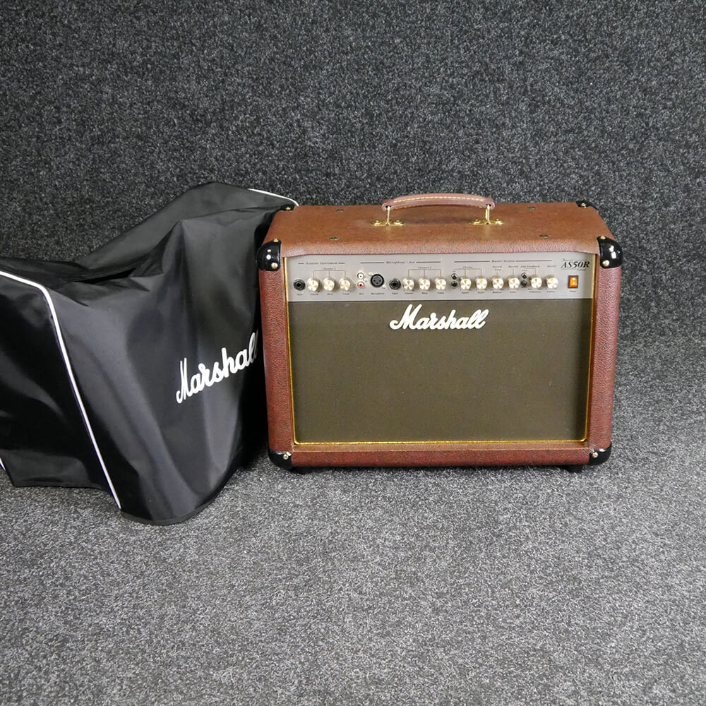 marshall as50d acoustic combo amp w cover 2nd hand rich tone music. Black Bedroom Furniture Sets. Home Design Ideas