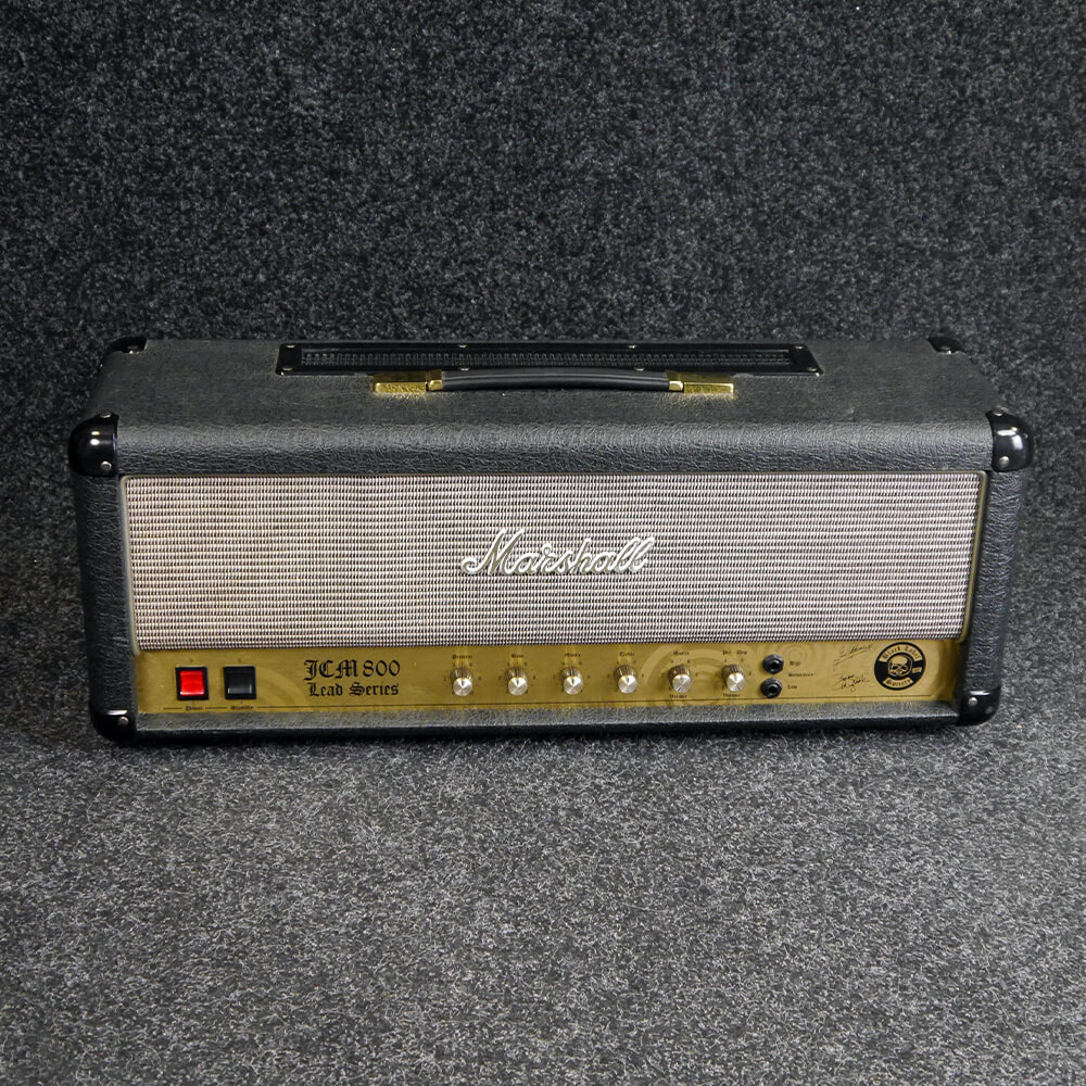 Marshall JCM800 Zakk Wylde Sig Amp Head w/Cover - 2nd Hand **COLLECTION ONLY**