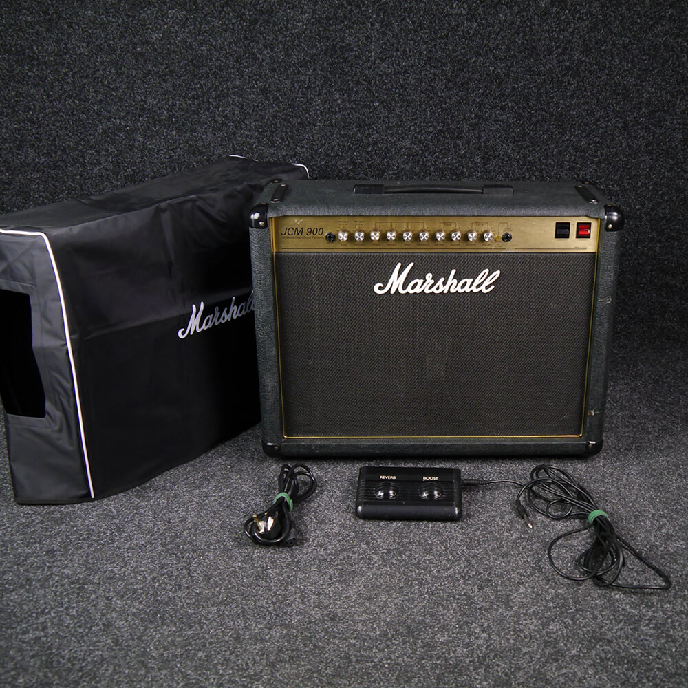 Marshall JCM900 4102 Combo w/Cover - 2nd Hand