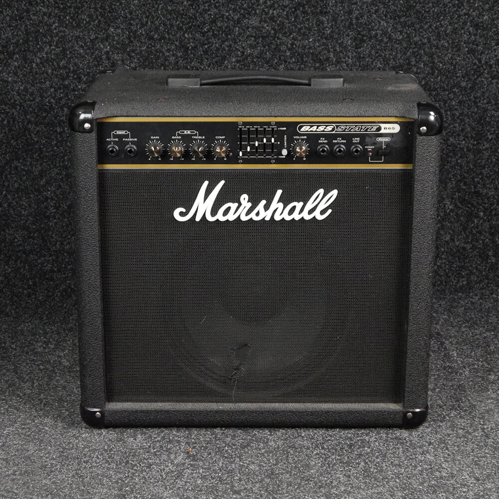 marshall b65 bass combo amplifier 2nd hand rich tone music. Black Bedroom Furniture Sets. Home Design Ideas