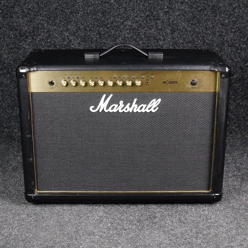 marshall mg102fx combo amp 2nd hand rich tone music. Black Bedroom Furniture Sets. Home Design Ideas